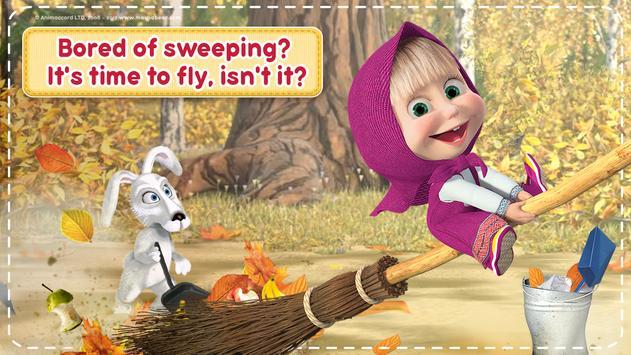 Маша и Медведь Игры для Девочек: Уборка в Доме تصوير الشاشة 7