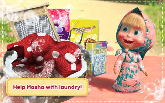Маша и Медведь Игры для Девочек: Уборка в Доме تصوير الشاشة 8