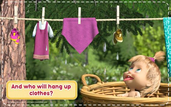 Маша и Медведь Игры для Девочек: Уборка в Доме تصوير الشاشة 17