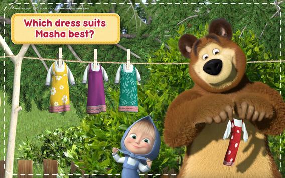 Маша и Медведь Игры для Девочек: Уборка в Доме تصوير الشاشة 14