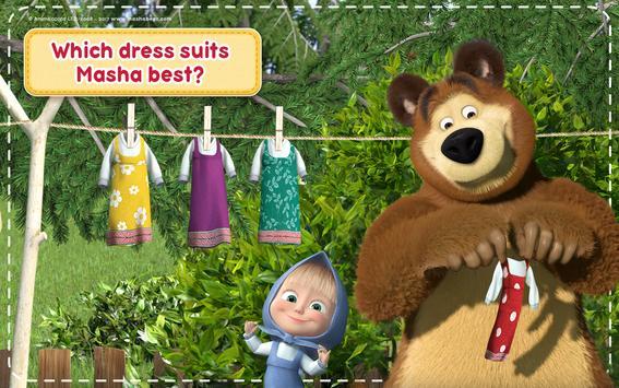 Маша и Медведь Игры для Девочек: Уборка в Доме تصوير الشاشة 22
