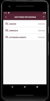 INDIRIMBO ZO GUHIMBAZA IMANA screenshot 4