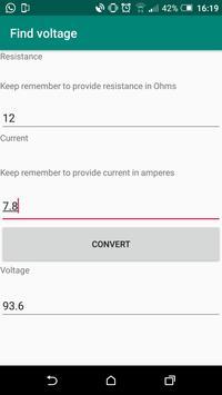 Find Voltage screenshot 1