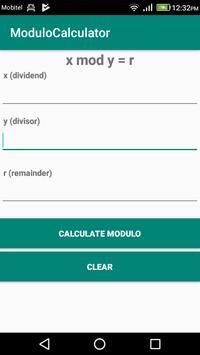 Modulo Calculator poster