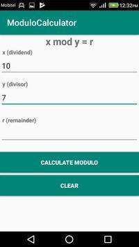 Modulo Calculator screenshot 1
