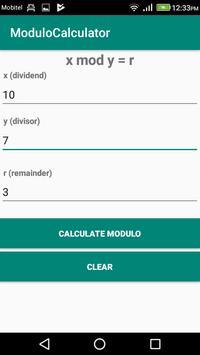 Modulo Calculator screenshot 2