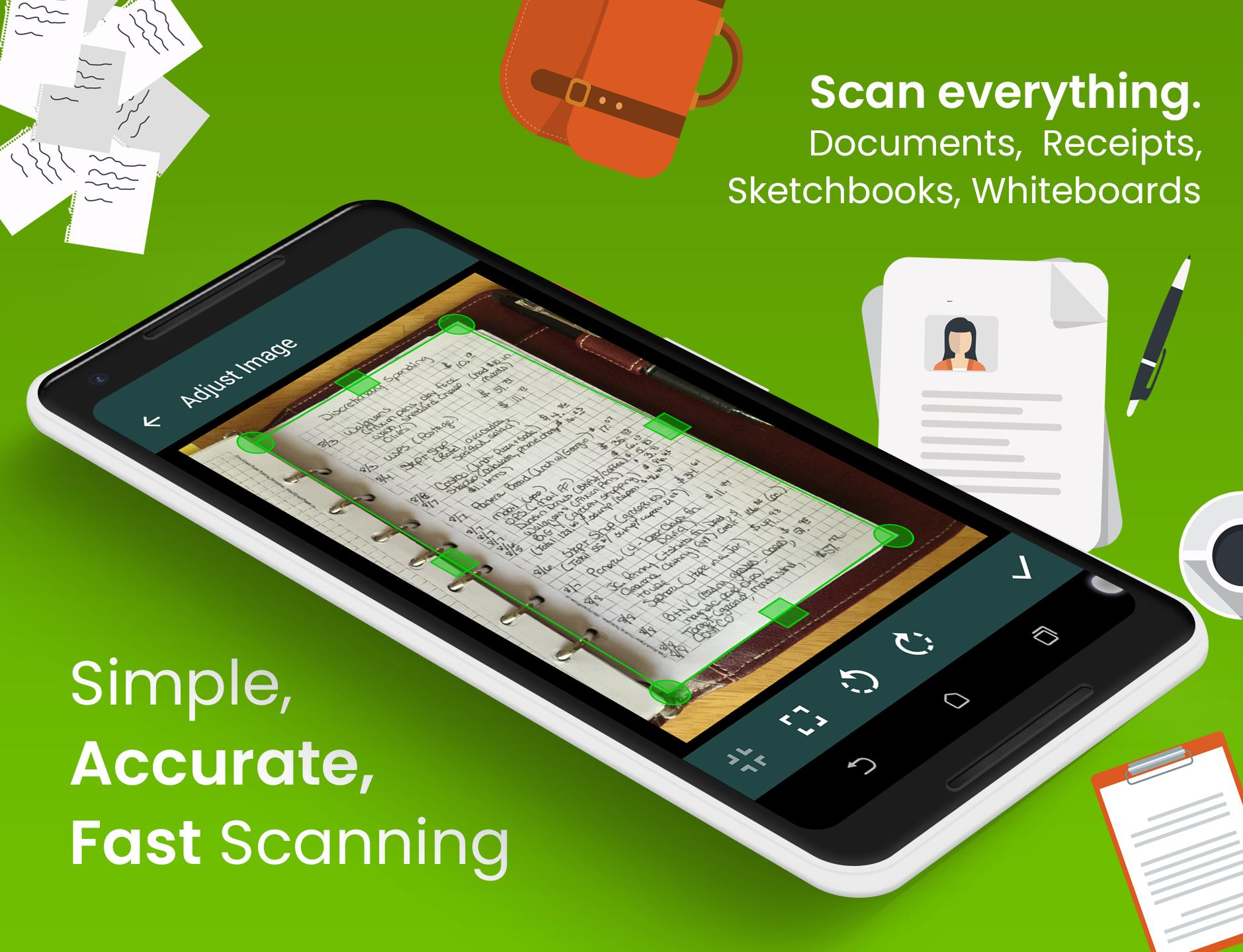Clear Scan: Free Document Scanner App,PDF Scanning for