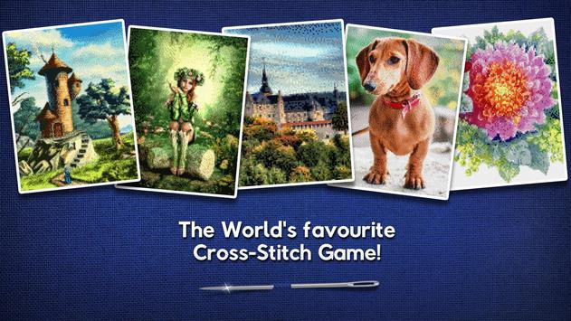 Cross-Stitch World poster