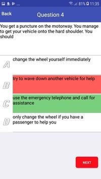 TEST FOR CAR EXAM 2019 screenshot 2
