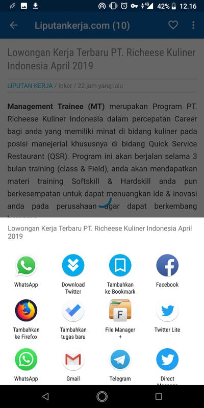 Info Lowongan Kerja Indonesia For Android Apk Download