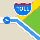 Toll Calculator - Truck RV Car US Canada GPS Maps icon