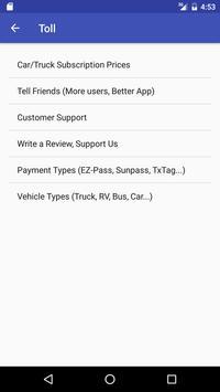 Toll Calculator - Truck RV Car US Canada GPS Maps screenshot 7