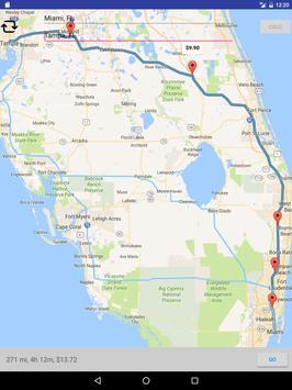 Toll Calculator - Truck RV Car US Canada GPS Maps screenshot 9