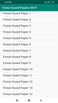 Forest Guard Papers 2019 poster