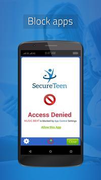 SecureTeen تصوير الشاشة 3