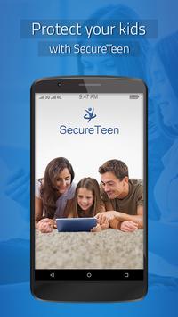 SecureTeen الملصق