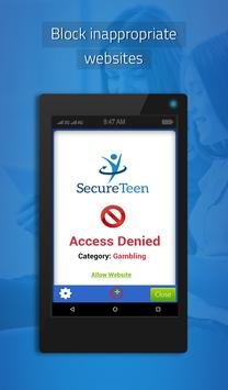 SecureTeen تصوير الشاشة 13
