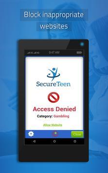 SecureTeen تصوير الشاشة 7