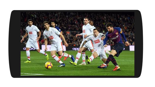 2 Schermata Live Football TV