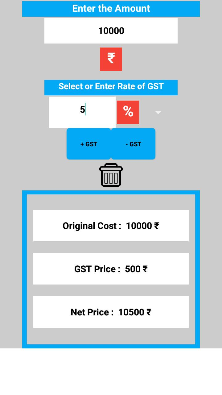 GST Calculator 2019 Latest for Android - APK Download