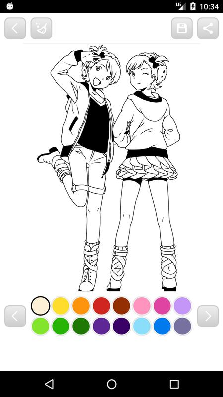 Anime Manga Coloring Book For Android Apk Download
