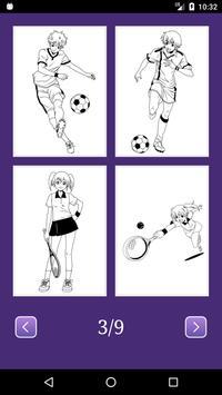 Anime Manga Coloring Book screenshot 2