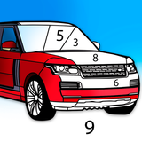Cars Color by Number – Cars Coloring Book