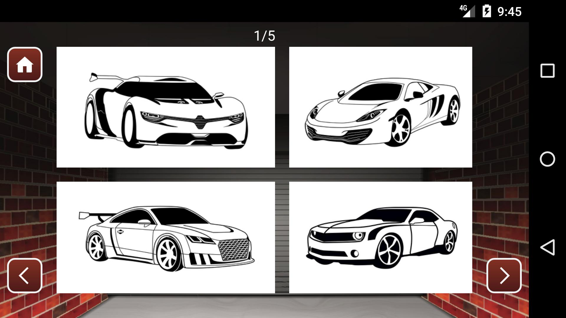 Best Cars Coloring Book Game For Android Apk Download