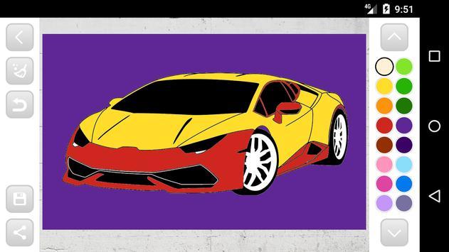 Лучшая Игра Раскраски Машины для Андроид - скачать APK