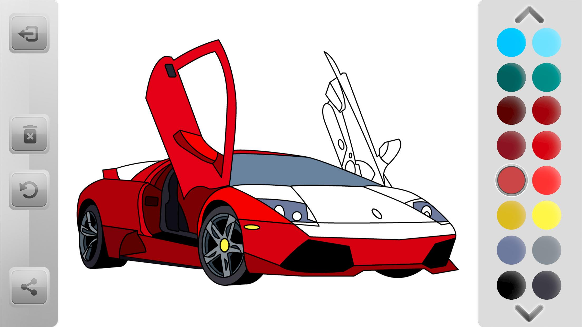 World Cars Coloring Book For Android Apk Download