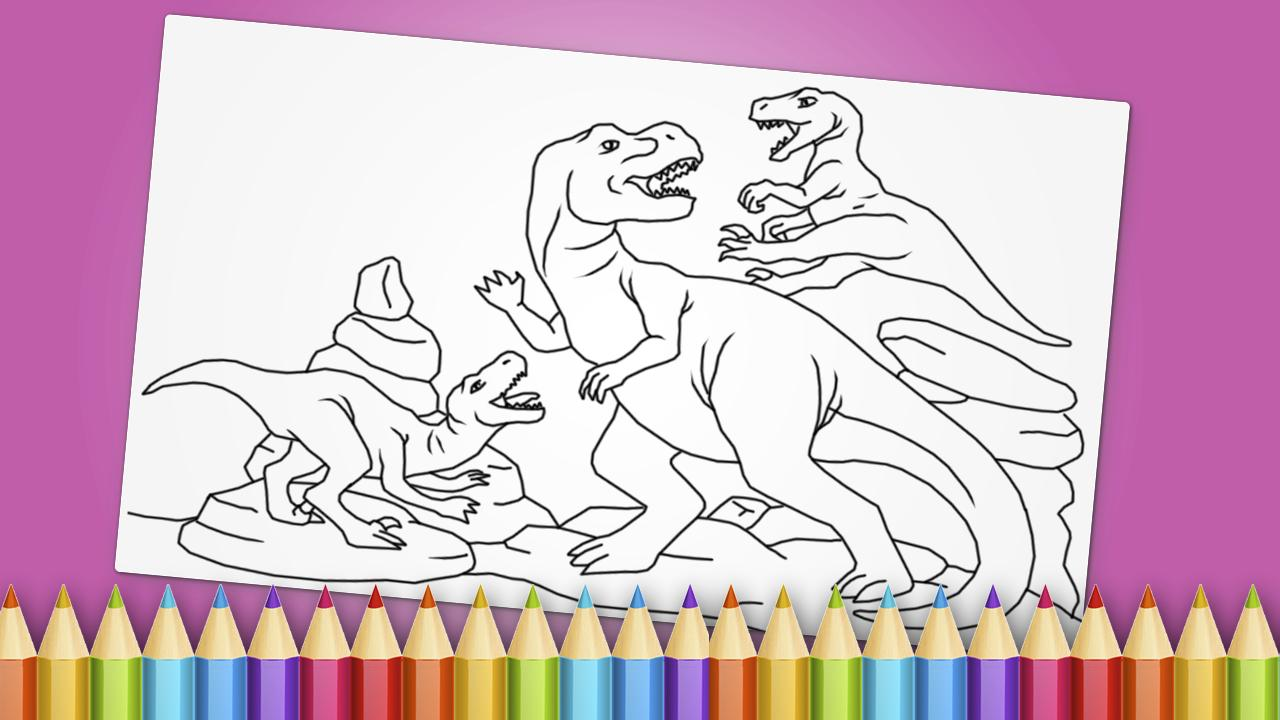 Dinosaurs Coloring Book Game For Android Apk Download