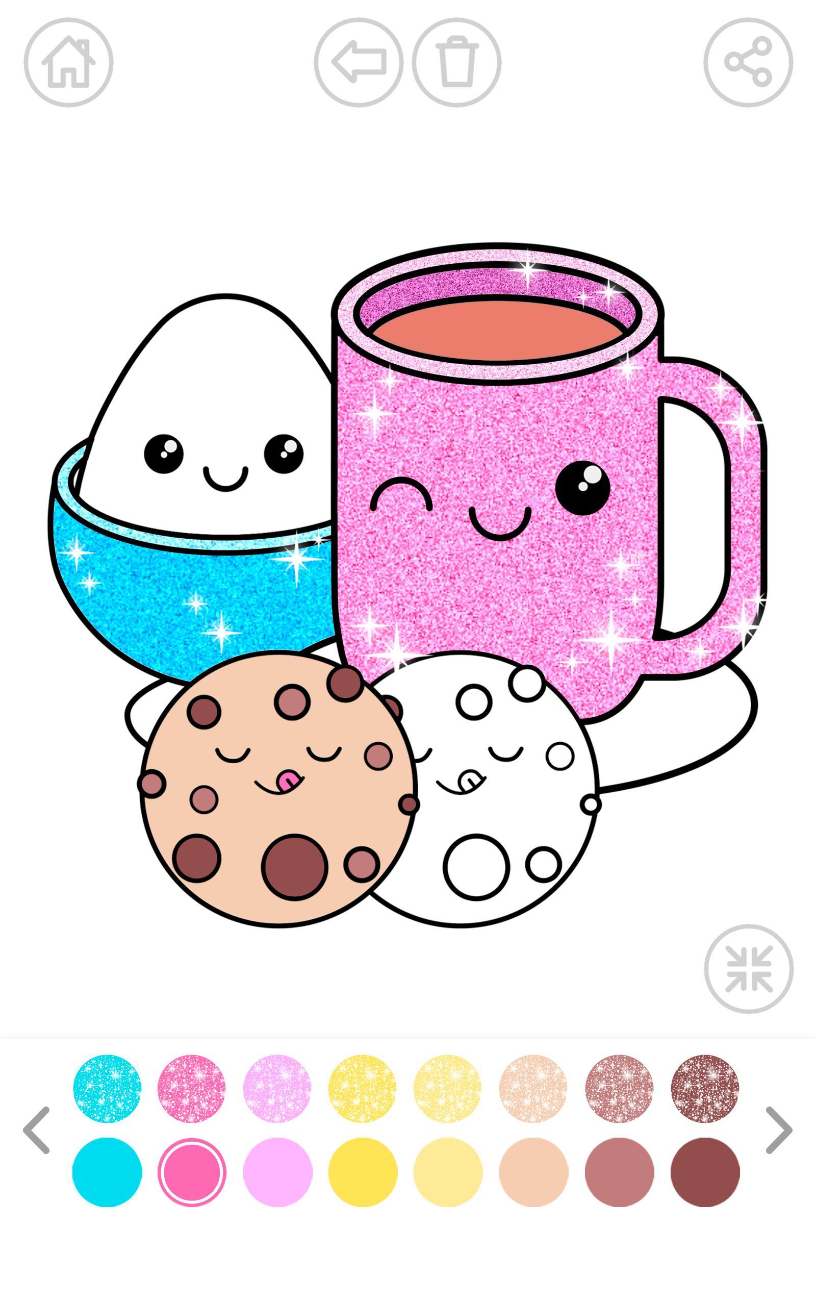 Kawaii Coloring Book Sparkle für Android - APK herunterladen