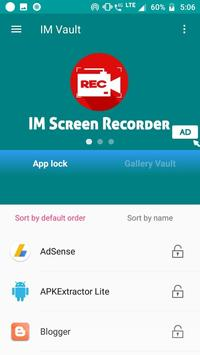 IM Vault : Hide Images & Videos, App Lock screenshot 3