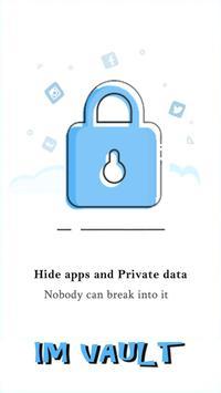 IM Vault : Hide Images & Videos, App Lock poster