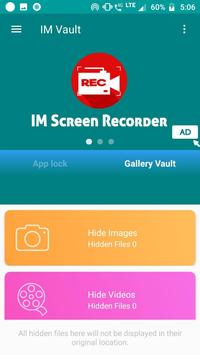 IM Vault : Hide Images & Videos, App Lock screenshot 5