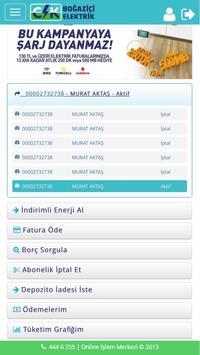CK Boğaziçi Mobil İşlemler screenshot 4