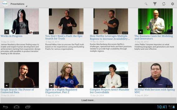 InfoQ Videos screenshot 4