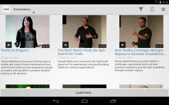 InfoQ Videos screenshot 6