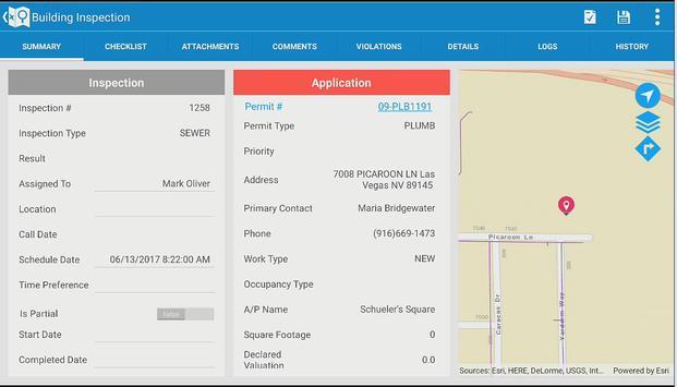 Infor Field Inspector screenshot 2