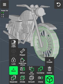 3D Modeling App screenshot 15