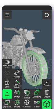 3D Modeling App screenshot 1