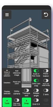 3D Modeling App screenshot 2