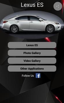 Lexus ES poster