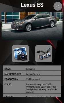 Lexus ES screenshot 1