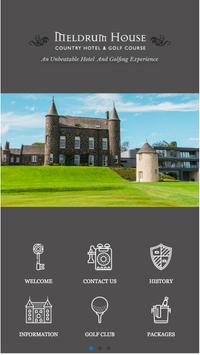Meldrum House Country Hotel poster