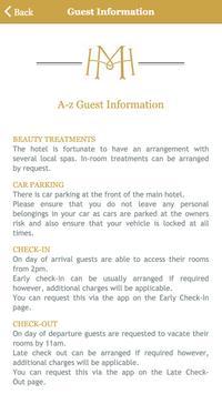 Meldrum House Country Hotel screenshot 2