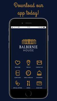 Balbirnie House Hotel poster