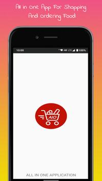 AIO - All in One Shopping App poster