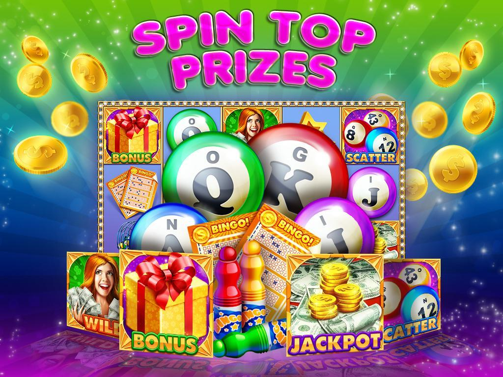 Bingo Slot Machines - Slots poster