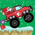 Santa Run - Monster Truck  Racing